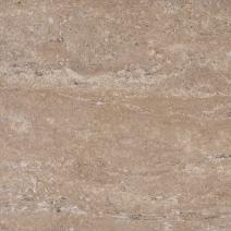 Травертин полуполированный заполненный цементной замазкой темно-бежевый
